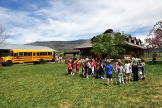 Students from Crystal River Elementary School in Carbondale participate in the Aspen Center for Environmental Studies' program at Rock Bottom Ranch last school year. The program has been expanded to a full-time offering at CRES this year, including weekly, one-hour environmental science classes for kindergarten through fourth grade.