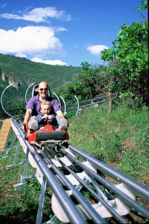 The Alpine Coaster is recognized among the nation's best.