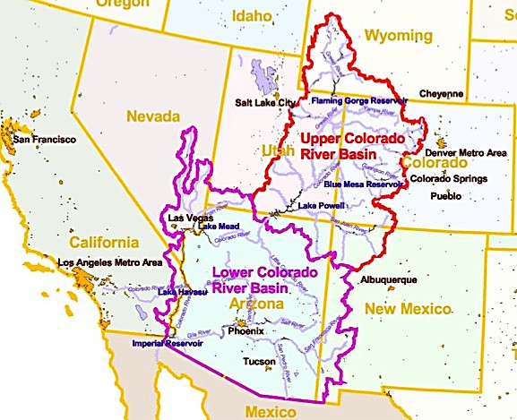 Good And Bad News For Colo River Basin PostIndependentcom - Colo river map
