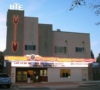 The New Ute Events Center in downtown Rifle can accommodate as many as 310 people for many kinds of events and performances.