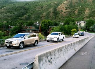 The 27th Street bridge coming off of Midland Avenue is one of the traffic choke points that has Glenwood Springs City Council concerned about a proposal to locate a FedEx distribution center on the south end of town by the municipal airport. The bridge has also been rated deficient in recent state inspections.
