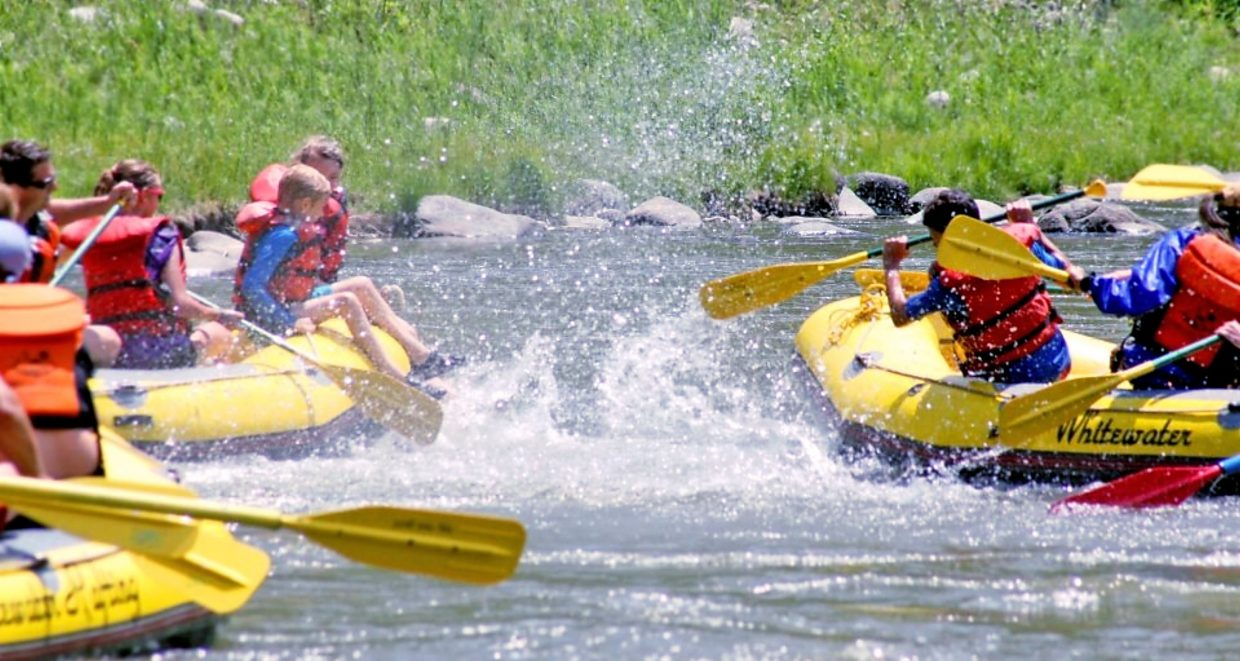 A guided trip on the Colorado River is fun for all ages.