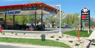 City Market's new fuel station in Rifle and it's low prices were gladly welcomed by motorists, but a longtime Rifle business is none too happy at the new competition.