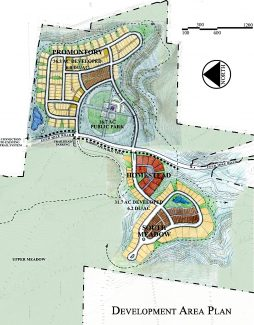 SITE PLAN RENDERING BY WOLFF LYON ARCHITECTS