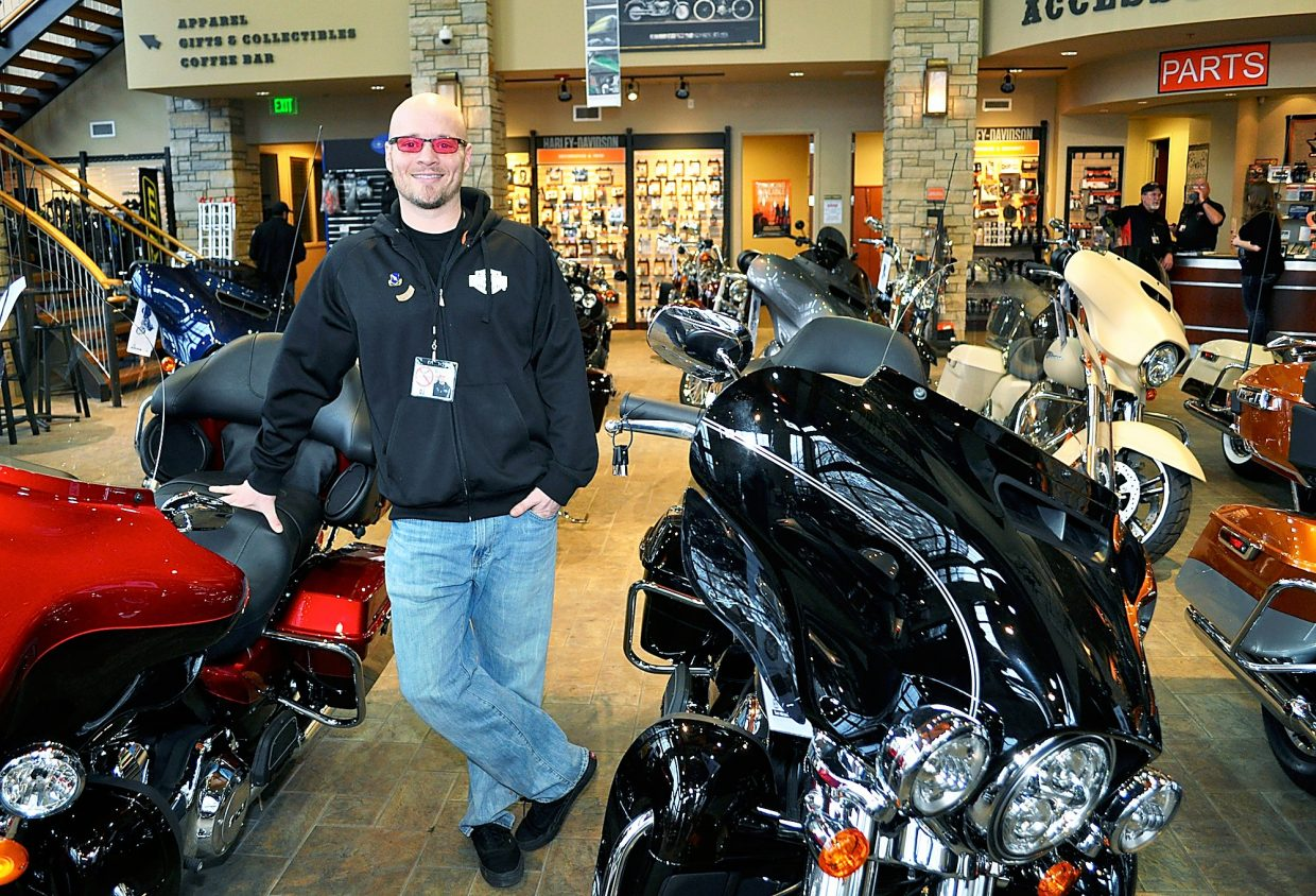 new glenwood springs harley team aims to please   postindependent