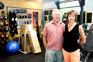 Dave and Jeanne Sheriff at their HealthStyles Exercise Equipment store on Midland Avenue. The Sheriffs recently sold  to a pair of Denver businessmen the business they started in Glenwood Springs 22 years ago and expanded to include several Front Range stores.