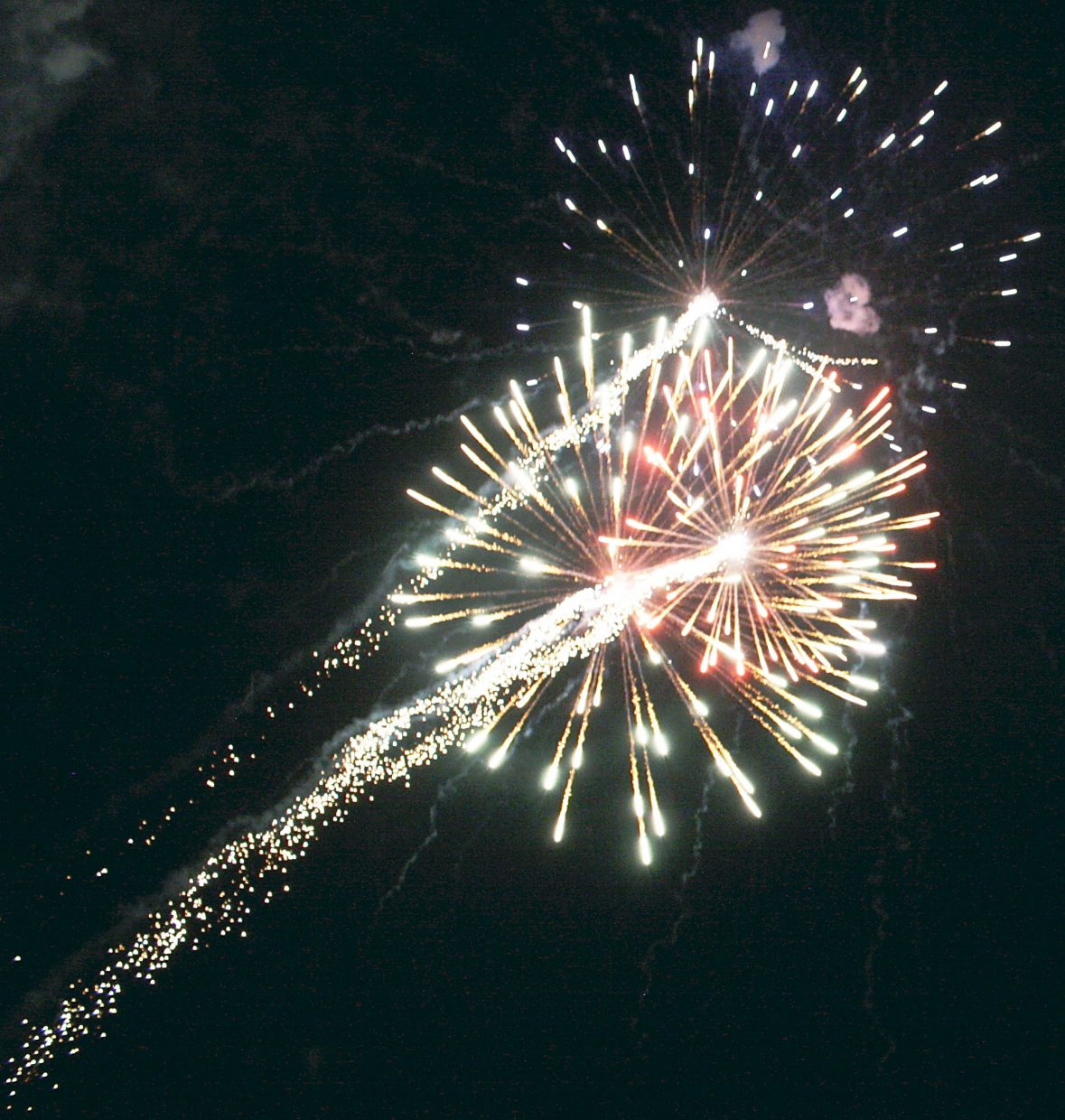 Fireworks bring the opening night of the 46th annual Silt HeyDays to a close Friday. Earlier in the week, town officials noted that this was the first time the town had fireworks, for this event or any other, in decades. The fireworks went off without any noticeable problems.