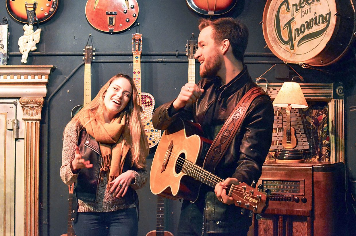 O&O are among the many who have performed at Steve's Guitars in Carbondale.