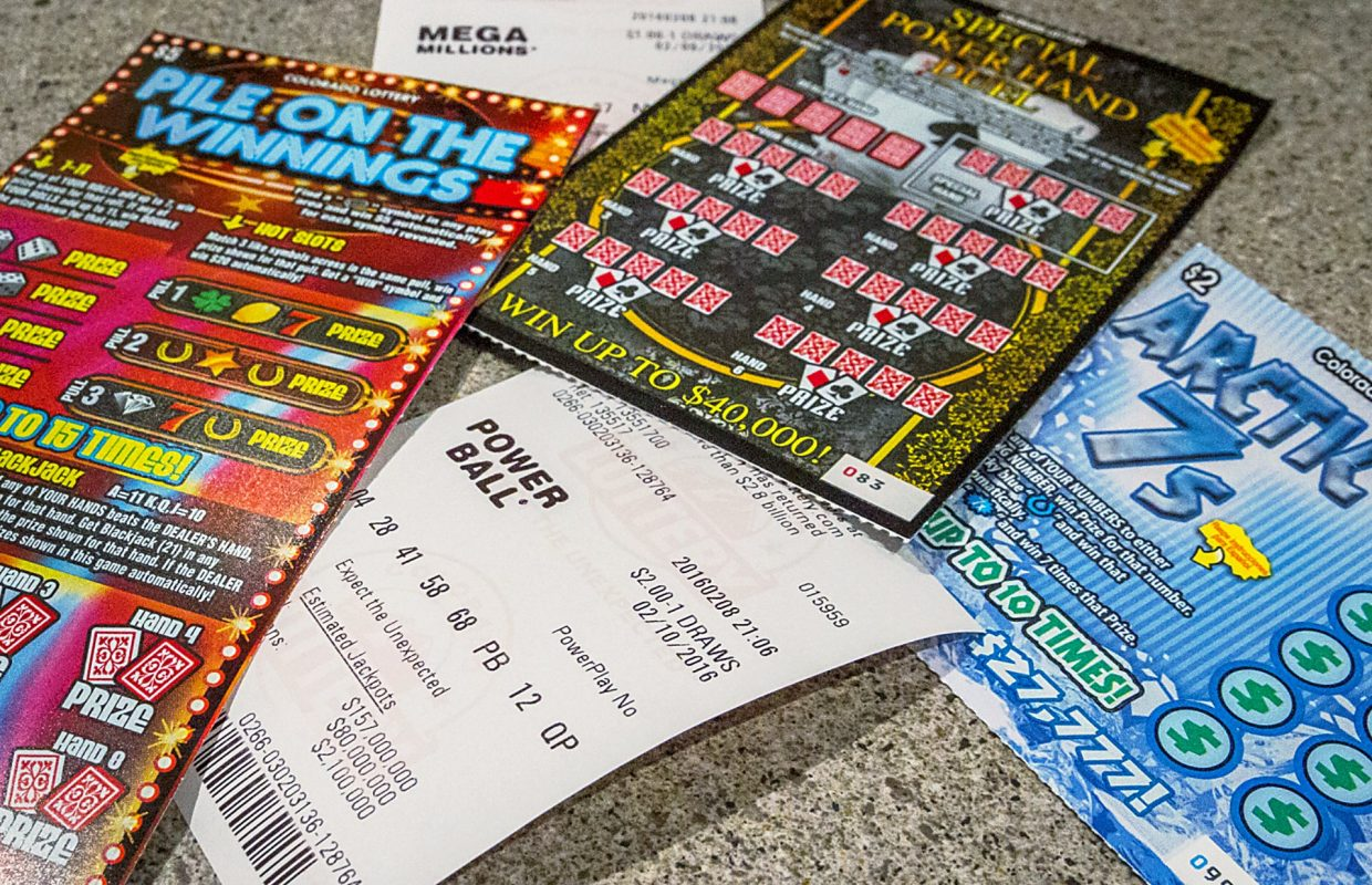Scratching the surface of local lottery luck