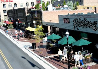The addition of outdoor dining space along Seventh Street in downtown Glenwood Springs has been popular with tourists and locals alike, helping to contribute to a bustling summer season so far in terms of retail sales.