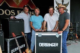 Western Slope country rock band Derringer closes the Friday night Rifle Rendezvous entertainment with a dance party at the Garfield County Fairgrounds starting at 8:30 p.m.