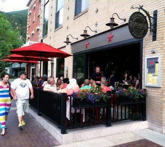 An effort to create more downtown vibrancy in Glenwood Springs by creating outdoor dining spaces for local restaurants is an example of the commercial real estate trend toward town center development