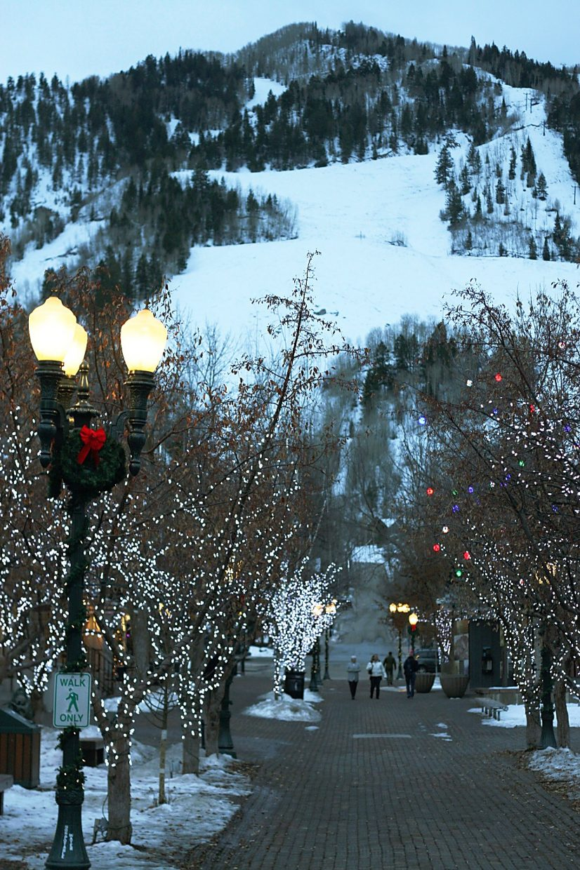 It's the spirit of Aspen that makes it so special, especially when it's illuminated by the festivities of the holiday season.