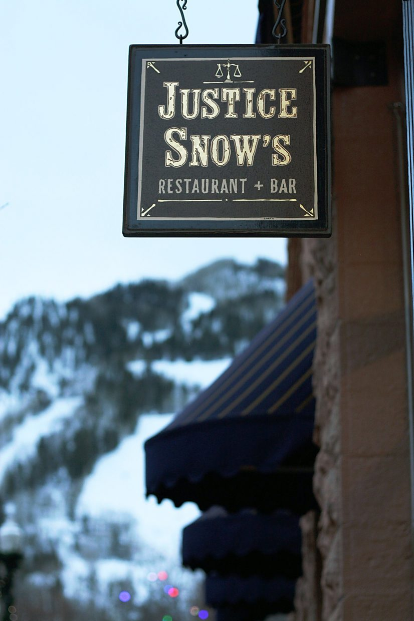 Everyone in town will say you have to make a stop at the historic building that houses Justice Snow's, known for its creative food and craft cocktails.
