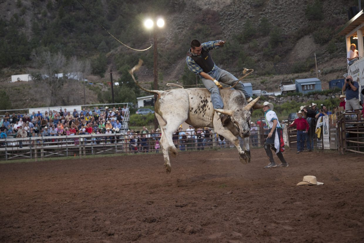 The rodeo is a family friendly event that takes place rain or shine.