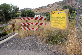 Garfield County and the city of Glenwood Springs are discussing a proposal to salvage the stalled LoVa South Canyon trail project west of Glenwood, by building another partial trail segment. The project may hinge on keeping federal funding intact.