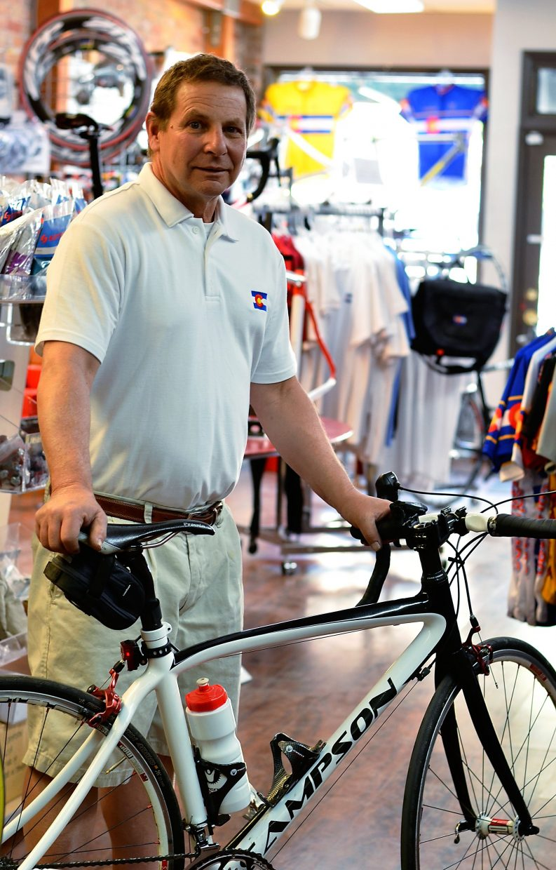 Sampson Bikes relocated from Denver to 819 Grand Avenue.
