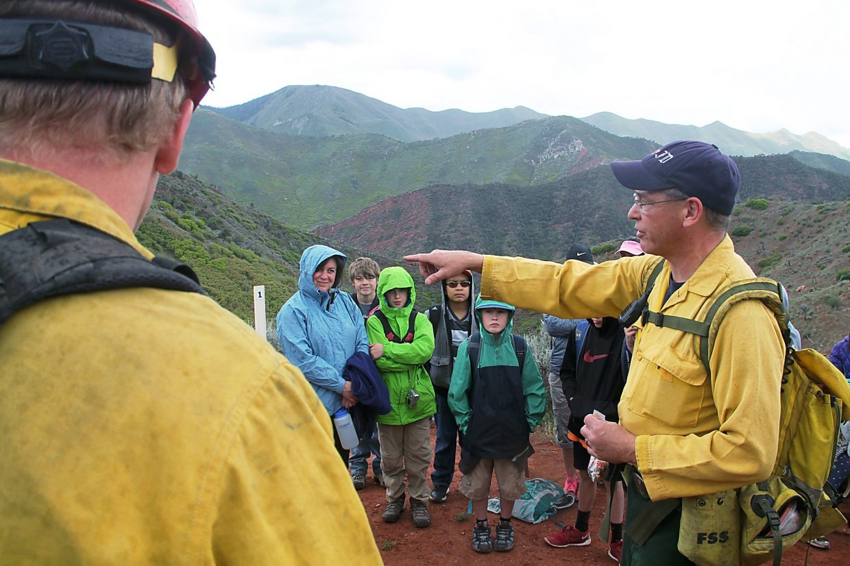 Greg Bak describes the events that lead to the death of 14 firefighters on Storm King Mountain.