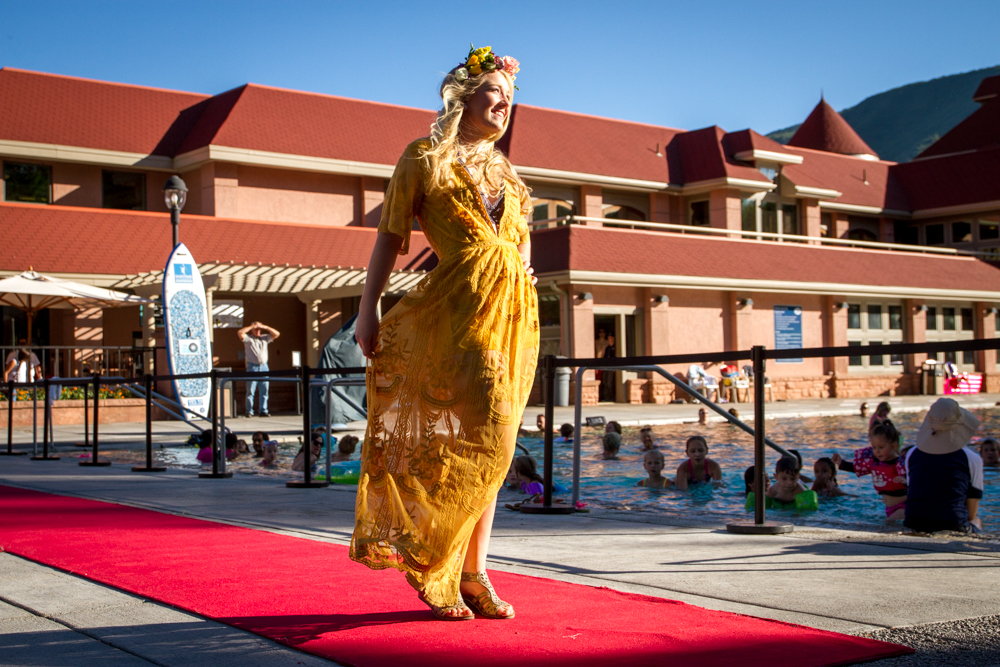 The Glenwood Hot Springs hosted the annual Miss Strawberry Days Fashion show Thursday night.