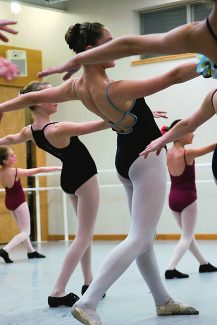 Students practicing at the School of Aspen Santa Fe Ballet in Aspen. The school is expanding to Glenwood Springs this fall, taking over the studio space currently occupied by the Glenwood Dance Academy.