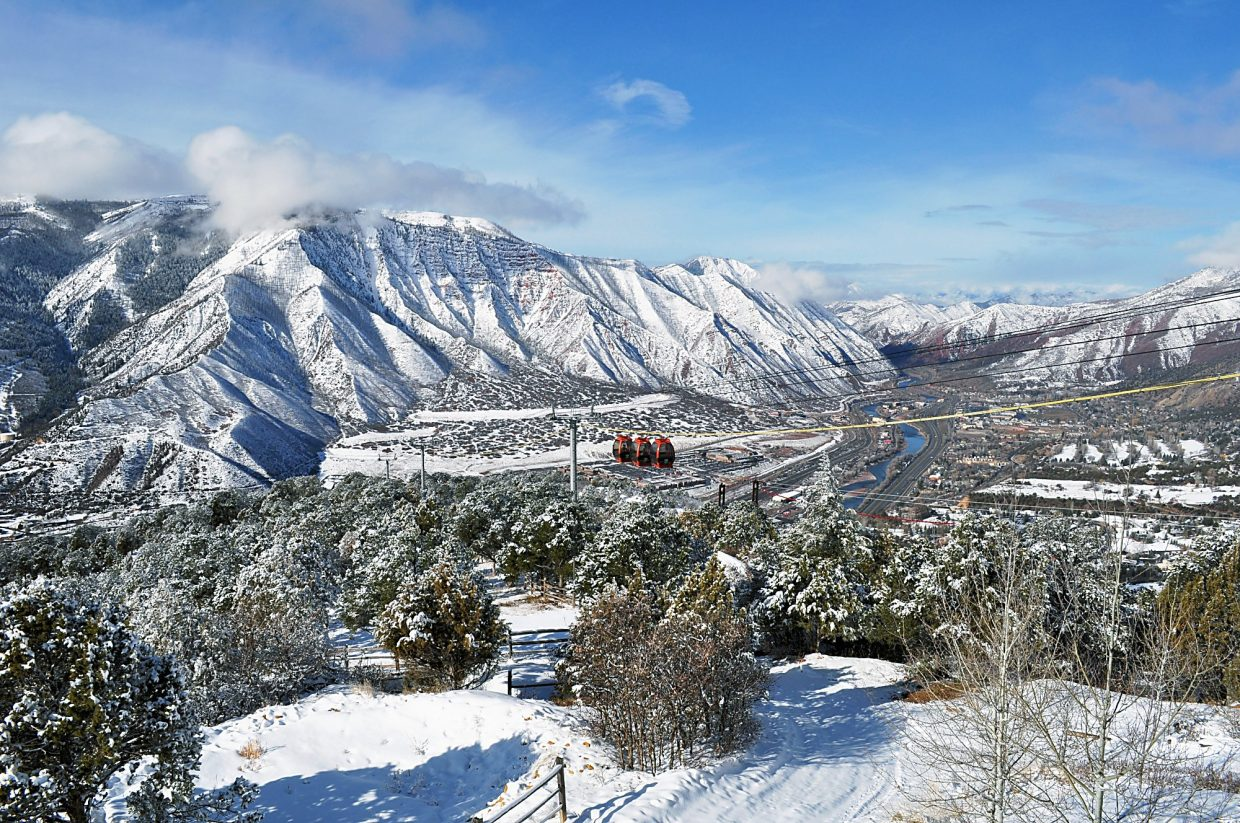 Glenwood Caverns Adventure Park To Debut Winter On The
