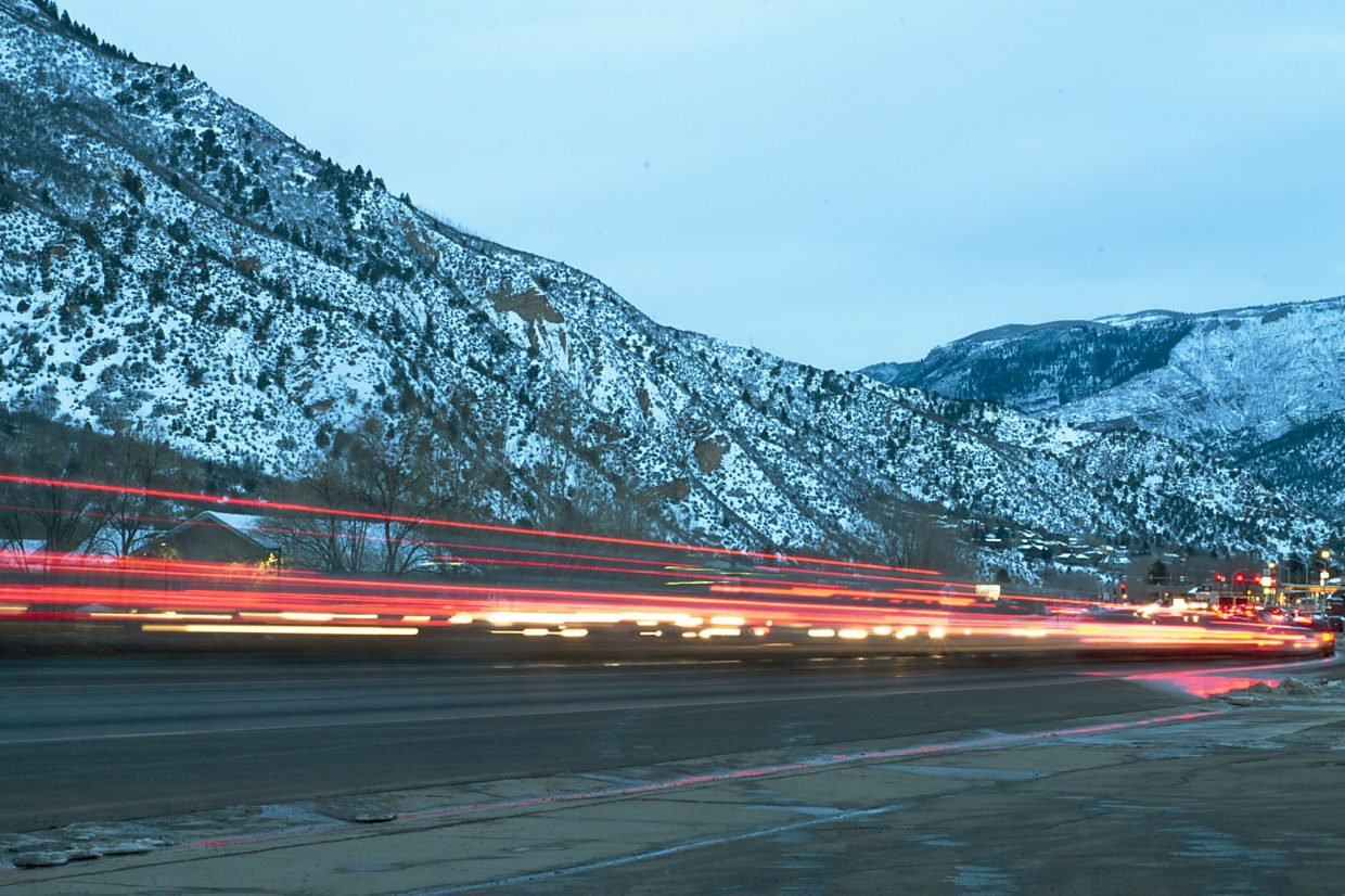 Traffic can seem endless in South Glenwood during the evening rush hours.