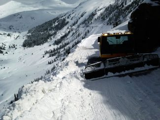 The Colorado Department of Transportation continues to work at clearing Independence Pass of snow with a target date and time of 2 p.m. Thursday to open the pass for vehicular traffic.