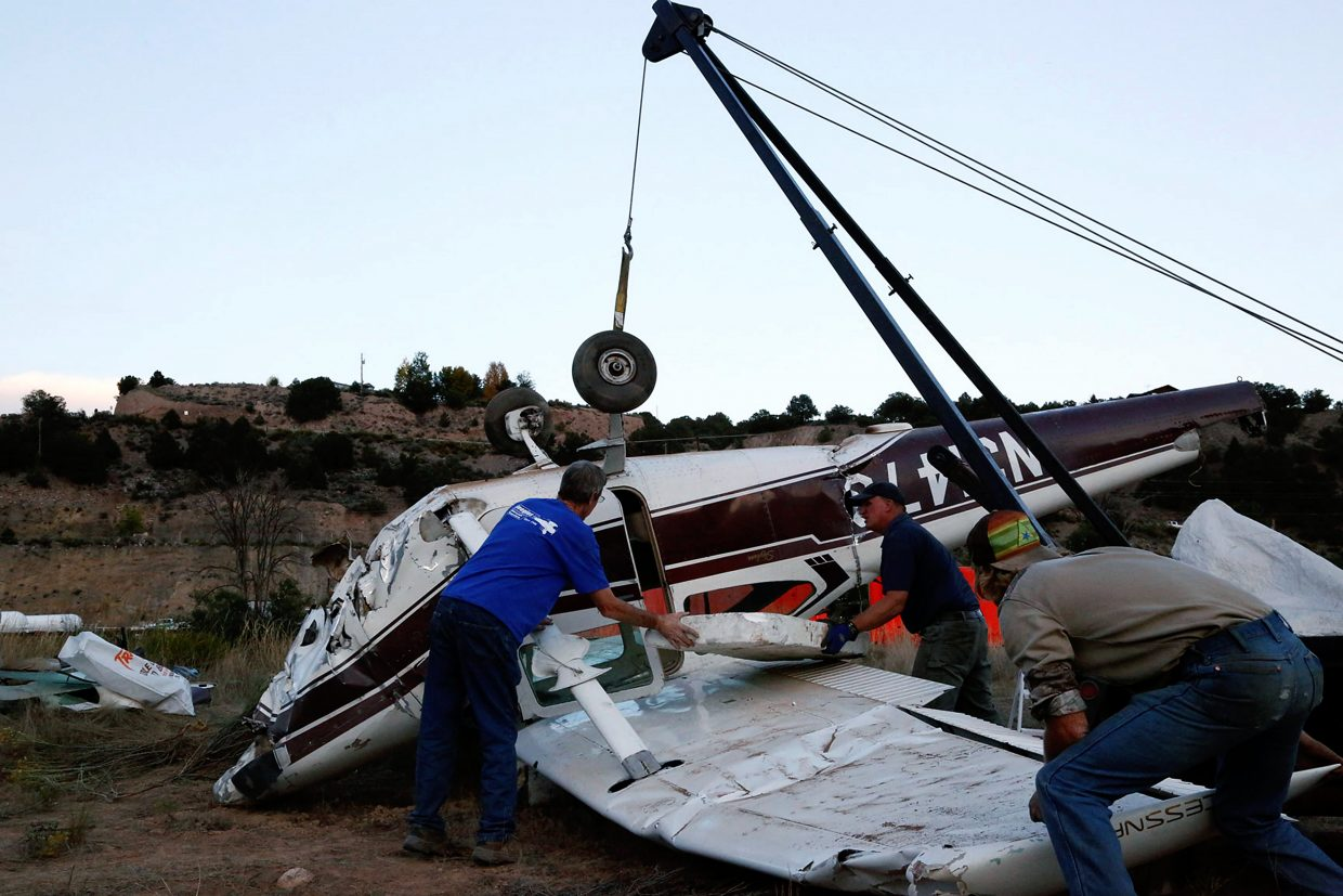 Crashed Plane Was Recently Purchased Postindependent Com