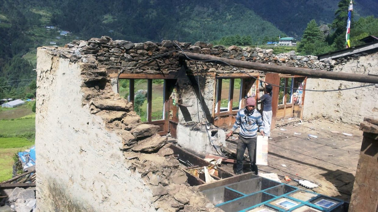 Almost no buildings were left unscathed during the two earthquakes that ravaged Nepal this spring. The Sherpa Foundation has been raising money and support all summer, and is leaving Monday to hep with rebuilding efforts.