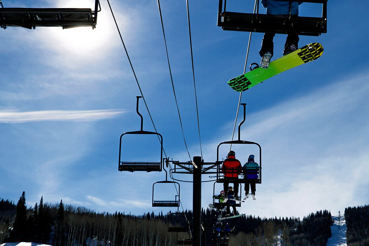 Roaring Fork Valley locals and guests to the area enjoyed a beautiful Colorado bluebird day at Sunlight Mountain Resort.