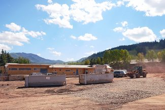 Aspen Skiing Co. is building a new kids' center called The Hideout at the base of Buttermilk. The building and associated work will cost $10 million, according to the company.