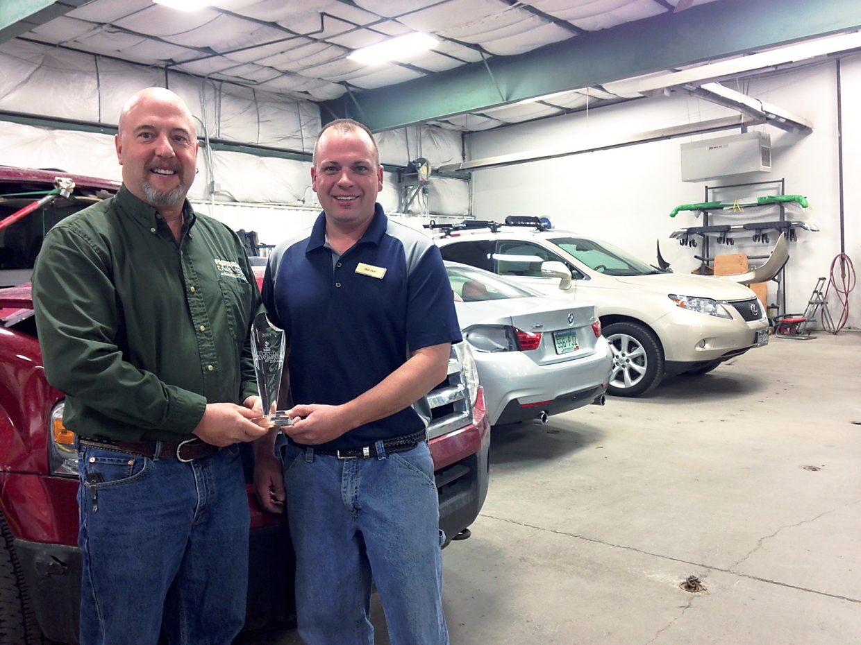Professional Auto Body Earns Ethics Award Postindependent Com