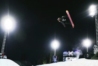 Shaun White competes in the 2011 Winter X Games in Aspen.