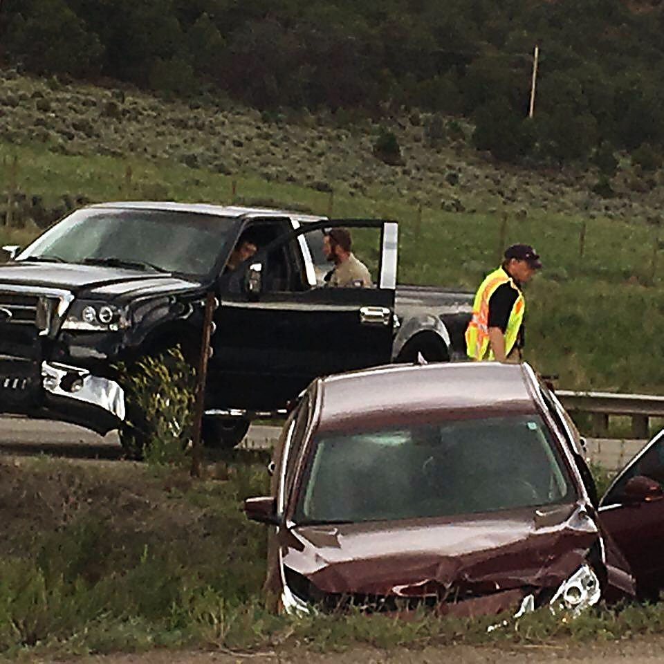 This accident shortly before 6 p.m. Wednesday in the downvalley lanes of Highway 82 near Aspen Glen stalled traffic
