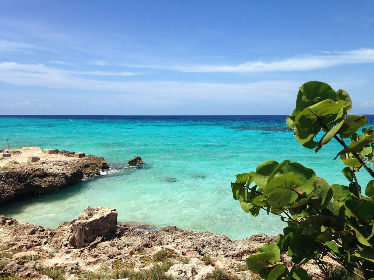 This is a snorkeling spot near Playa Giron in the Bay of Pigs.