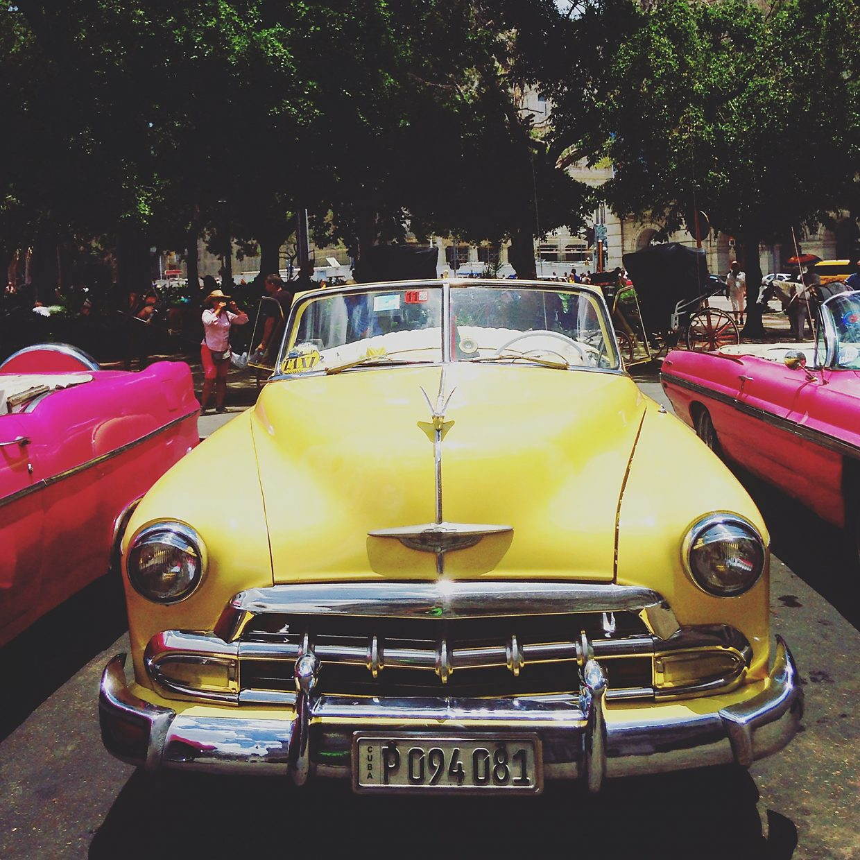 Vintage cars in Havana are one effect of the long trade embargo between the United States and Cuba.