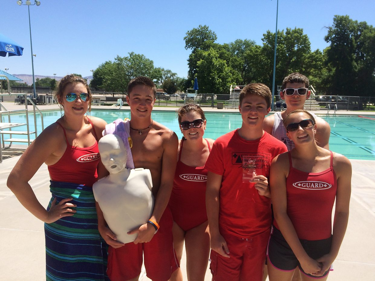 ec104566bd64 Rifle lifeguards tie for first at lifeguard games