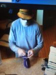 Surveillance footage of the robbery suspect at Glenwood Springs' Vectra Bank.
