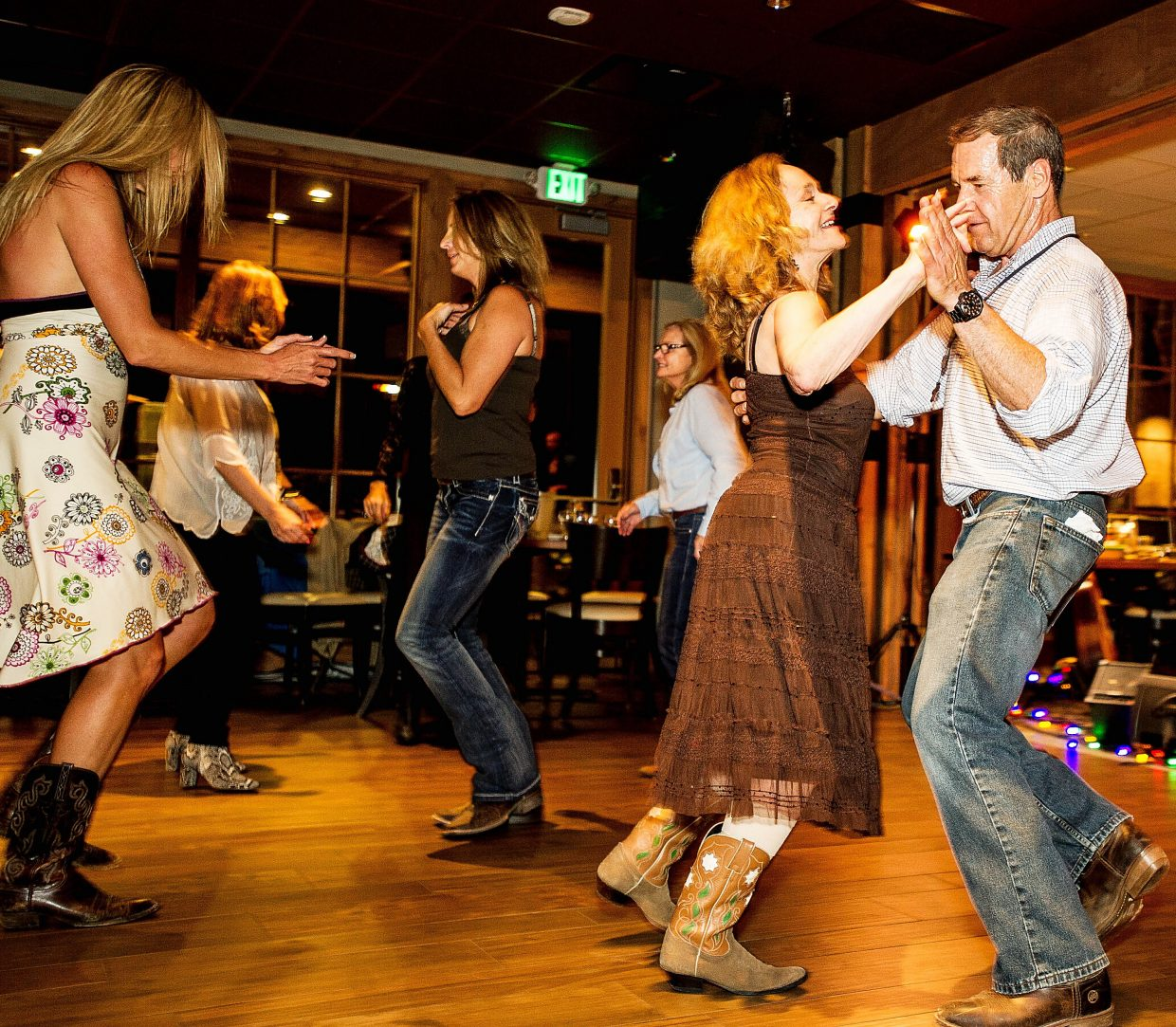 West Coast Swing is among the latest hot dances in the Western United States.
