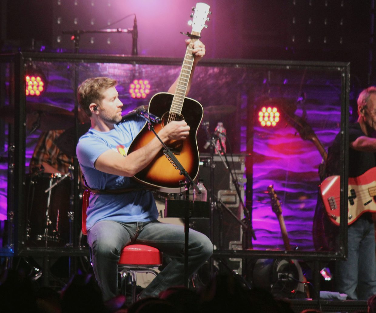 Josh Turner performs at the 2016 Garfield County Fair and Rodeo Friday night.