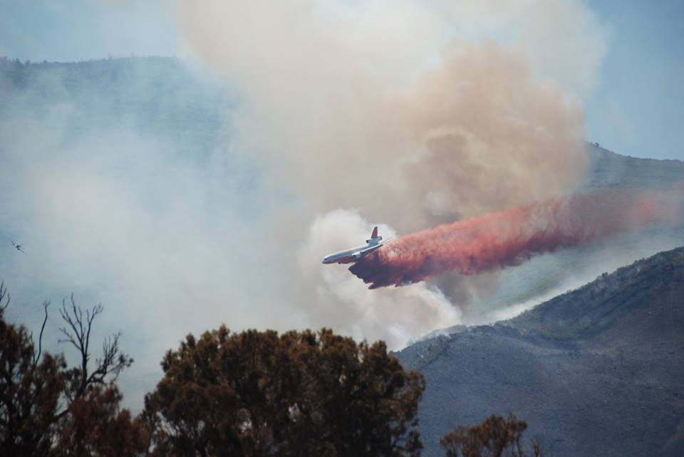 Voluntary evacuations for wildfire burning near Battlement Mesa