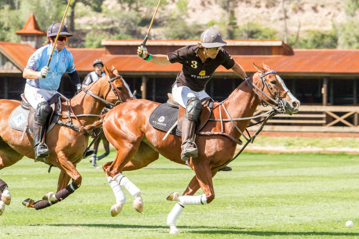 The Aspen Valley Polo Club near Carbondale hosted a summer polo event Saturday afternoon featuring one of the top polo players in the world, Argentinian Nacho Figueras. It was a close match between St. Regis and Aspen Valley but St. Regis came away with the 9-8 win in the last few seconds of the game.