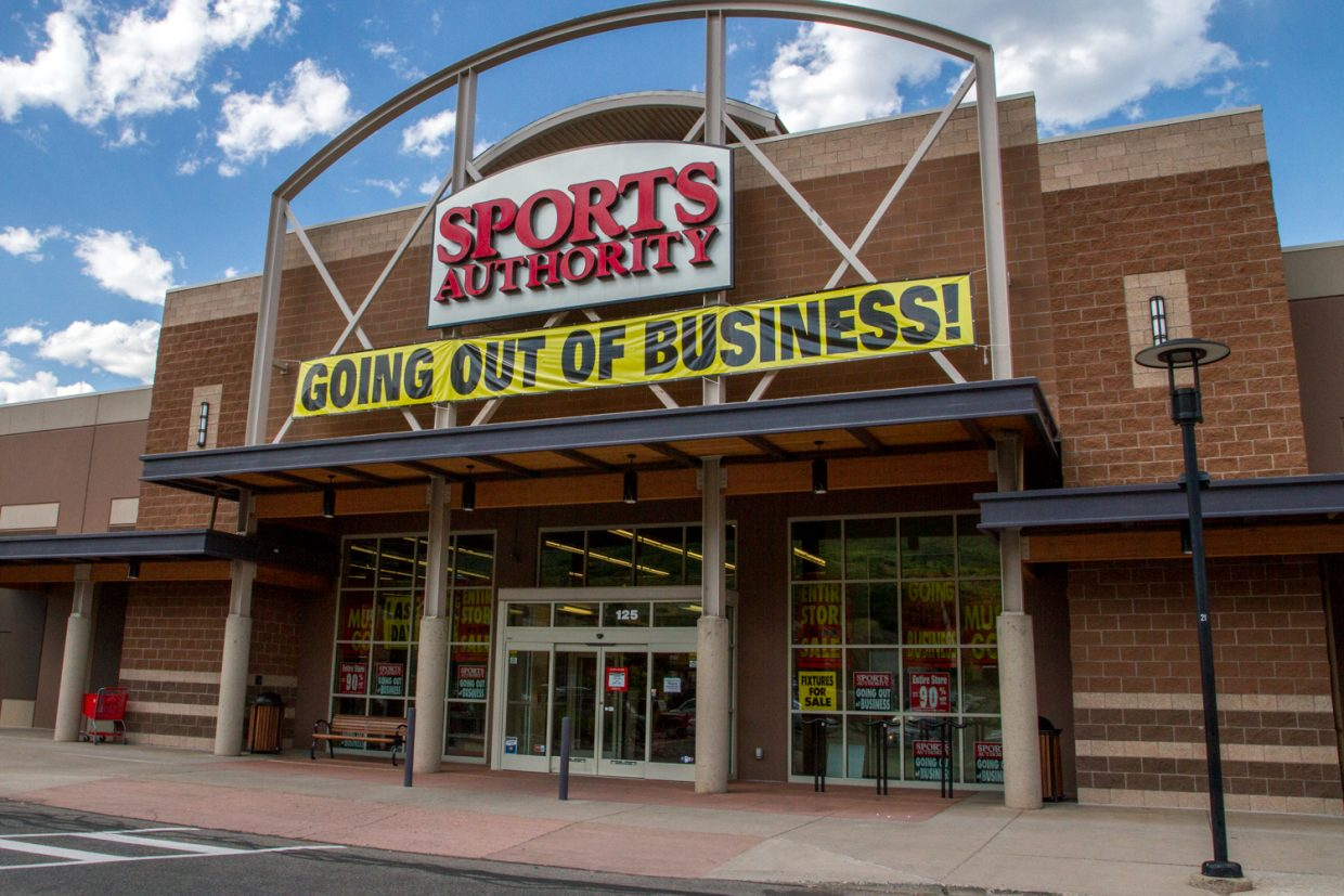 Image result for sports authority going o