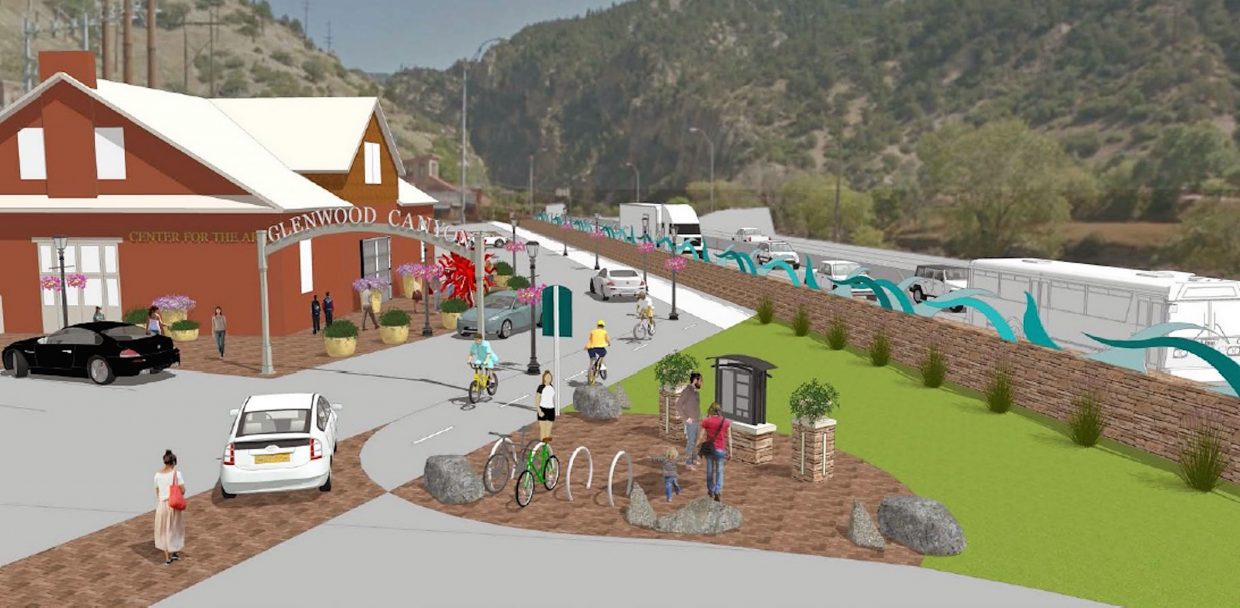 The draft Sixth Street Master Plan includes an archway entrance to the Glenwood Canyon bike path at the far east end of Sixth near what's now the Glenwood Center for the Arts.