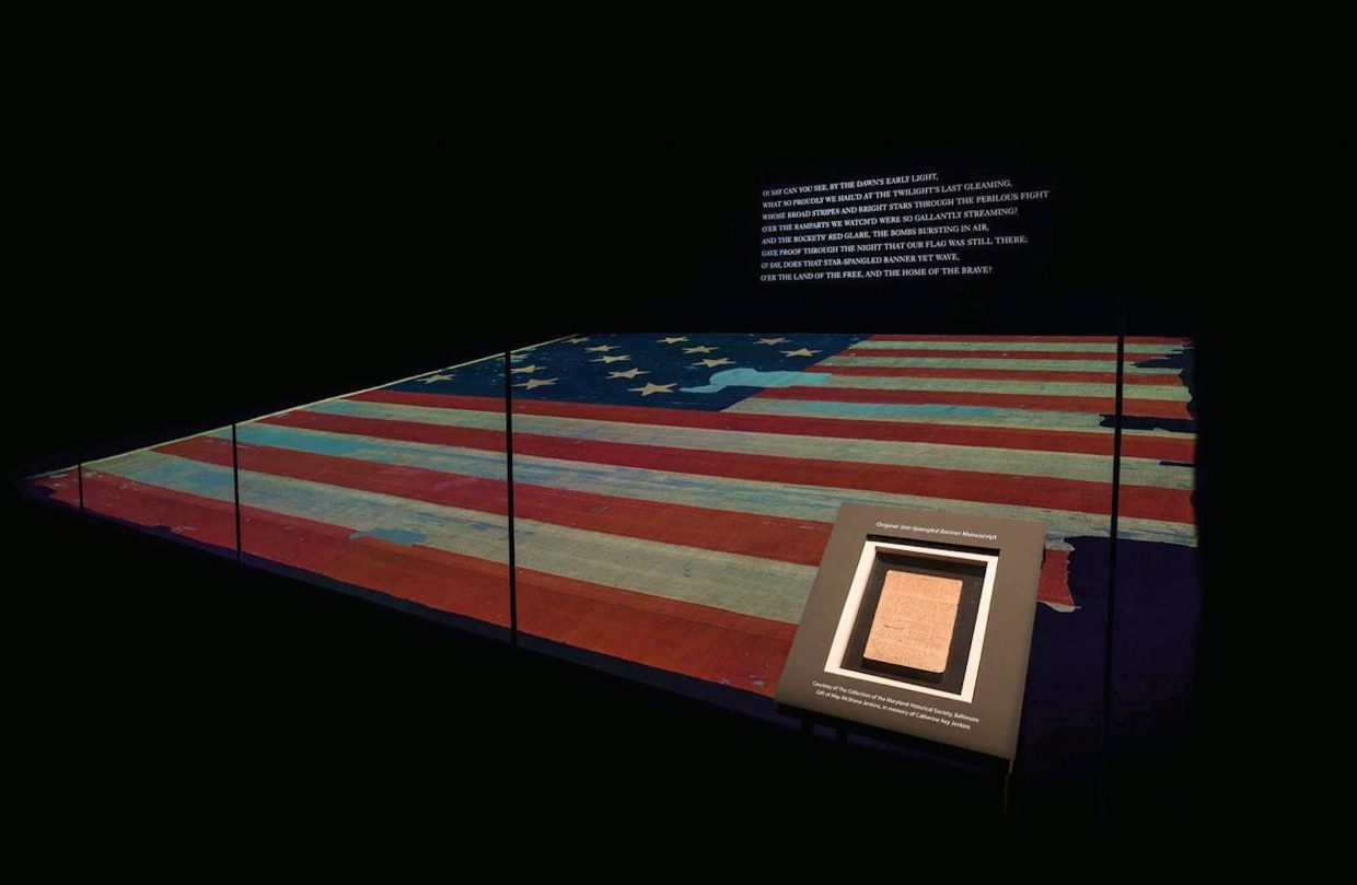 "Altitude Control Technologies built a system to protect and preserve an American flag and Francis Scott Key's original manuscript of the ""Star Spangled Banner."""