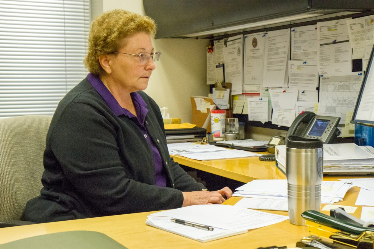 Carol Davis is the Office Manager for the police department.