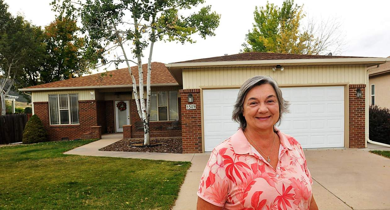 """Margaret McGhee of Battlement Mesa signed up for a CARE home energy visit after learning about the program. """"It sounded like a good plan,"""" she said. """"I'm a big one for saving energy and helping the environment."""""""