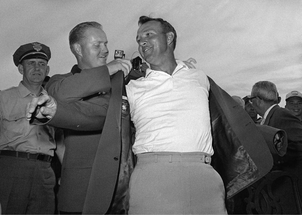 Gary Player recalls Arnold Palmer's 'dashing style, knowing smile'