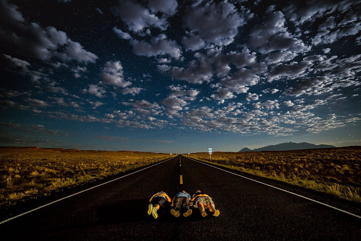 """""""Stargazing"""" is the overall winner in the PI's 2016 Summer Fun Photo Contest."""