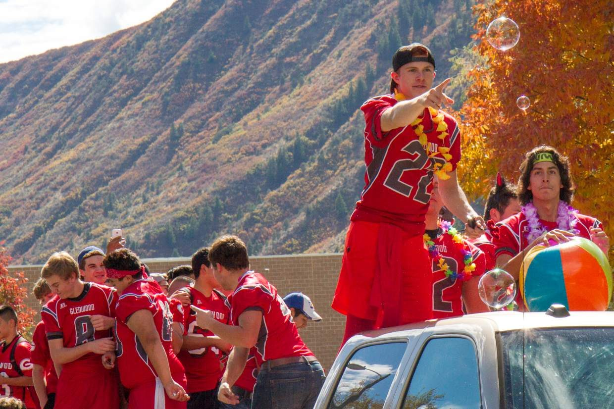 Glenwood Springs High School celebrated homecoming Friday afternoon with a parade down Pitkin Avenue from the high school to Glenwood Springs Elementary School. Nicholas Isgrig and Kelly Tran were awarded the 2016 homecoming king and queen during Friday night's game at Stubler Memorial Stadium. For a run-down on the game and other games around the valley go to page A8.